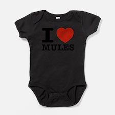 I love Mules Body Suit
