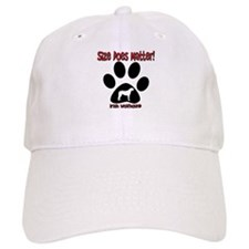 Size Matters Irish Wolfhoun Baseball Cap