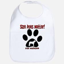 Size Matters Irish Wolfhoun Bib
