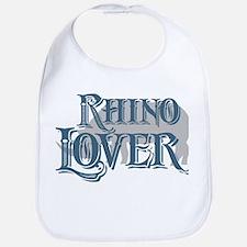 Rhino Lover Bib