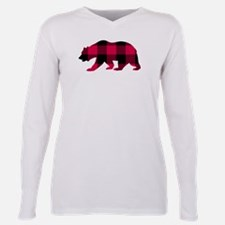 Buffalo Plaid Bear T-Shirt