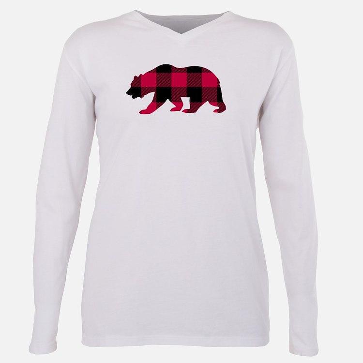 Buffalo plaid women 39 s plus size clothing plus size shirts for Custom t shirts buffalo ny