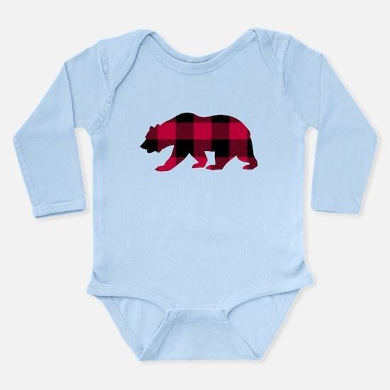 Buffalo Plaid Bear Body Suit