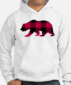 Buffalo Plaid Bear Sweatshirt