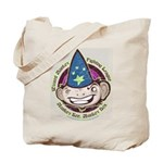 Wizard Monkey Tote Bag