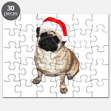 Unique Santa pug Puzzle