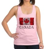 Canada Womens Racerback Tanktop
