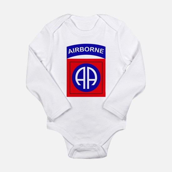 82nd Airborne Division Long Sleeve Infant Bodysuit