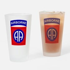 82nd Airborne Division Logo Drinking Glass