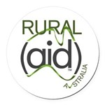 Rural Aid Round Car Magnet