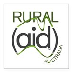 Rural Aid Square Car Magnet 3