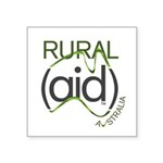Rural Aid Square Sticker 3
