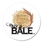 Buy A Bale Round Car Magnet