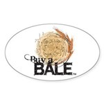 Buy A Bale Sticker (Oval 50 pk)