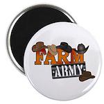 Farm Army Magnet