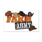 Farm Army 20x12 Wall Decal