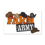 Farm Army 20x12 Wall Decal