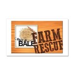 Farm Rescue Car Magnet 20 x 12