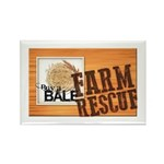 Farm Rescue Rectangle Magnet