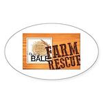 Farm Rescue Sticker (Oval 50 pk)