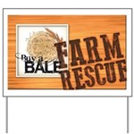 Farm Rescue Yard Sign