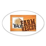 Farm Rescue Sticker (Oval 10 pk)