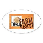 Farm Rescue Sticker (Oval 10 pk)
