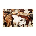 A Herd of Cattle 35x21 Wall Decal