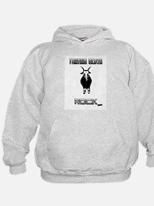 Fainting goats rock Sweatshirt