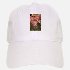 japanese maple red up close macro Baseball Baseball Cap