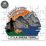I Bought A Sheep Mountain Puzzle