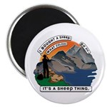I Bought A Sheep Mountain Magnet