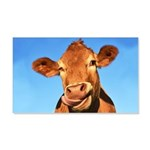 Selfie Cow 20x12 Wall Decal