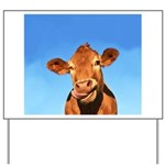 Selfie Cow Yard Sign