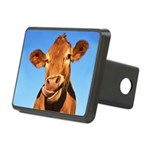 Selfie Cow Rectangular Hitch Cover