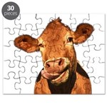 Selfie Cow (Transparent) Puzzle