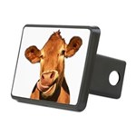 Selfie Cow (Transparent) Rectangular Hitch Cover