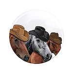 Cowboy Horses Button