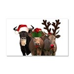 Santa & Friends Car Magnet 20 x 12