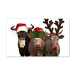 Santa & Friends 20x12 Wall Decal