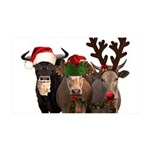 Santa & Friends 35x21 Wall Decal