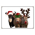 Santa & Friends Banner