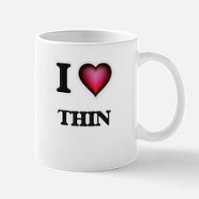 I love Thin Mugs