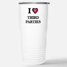 I love Third Parties Stainless Steel Travel Mug