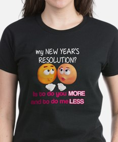 Sexy and Funny - My New Year's Resolut T-Shirt