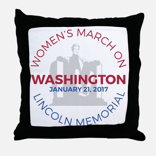 Unique March Throw Pillow