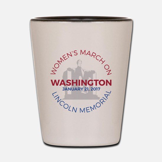 Funny March Shot Glass