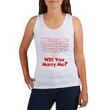 Mens wedding Women's Tank Tops