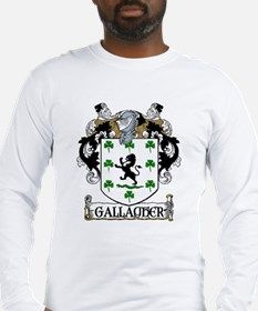 Gallagher Coat of Arms Long Sleeve T-Shirt