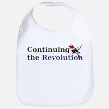 Continuing the Revolution Baby Bib
